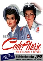Be a Cadet Nurse Fine-Art Print
