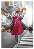 Marilyn in the City Fine-Art Print