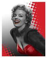 Marilyn Red Fine-Art Print