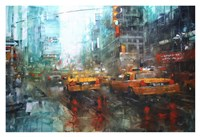Times Square Reflections Fine-Art Print