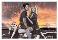 Sunset Ride Fine-Art Print