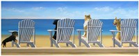 Beach Chair Tails II Fine-Art Print