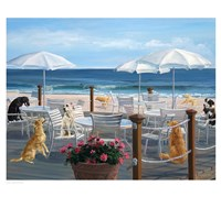 Beach Club Tails Fine-Art Print