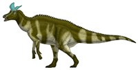 Lambeosaurus Lambei, a Hadrosaurid Dinosaur from the Cretaceous Period Fine-Art Print