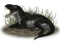 Pampaphoneus, a Genus of Dinocephalian Dinosaur Fine-Art Print