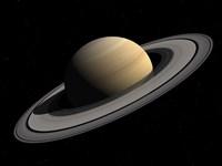 Artist's concept of Saturn Fine-Art Print