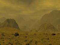 Artist's concept of the Surface of Venus Fine-Art Print