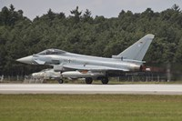 Eurofighter Typhoon of the German Air Force Taking Off Fine-Art Print