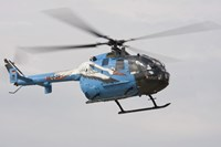 A Bolkow Bo-105 Liaison Helicopter of the German Army Fine-Art Print