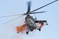 Czech Air Force Mi-35 Hind Helicopter Fine-Art Print