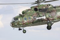 Slovak Air Force Mi-17 Hip in digital camouflage Fine-Art Print