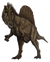 Oxalaia Dinosaur from the Late Cretaceous Period Fine-Art Print