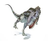 Majungasaurus Dinosaur on White Background Fine-Art Print