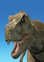 3D Rendering of Tyrannosaurus Rex, Close-up Fine-Art Print