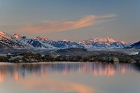 British Columbia, Alsek River Valley, Lake, Glacier Fine-Art Print