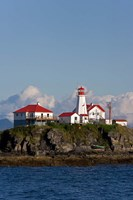 Canada, British Columbia Green Island Lighthouse Fine-Art Print