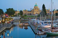 The Inner Harbor at Victoria, British Columbia Fine-Art Print
