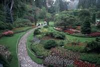 The Butchart Gardens, Vancouver Island, British Columbia, Canada Fine-Art Print