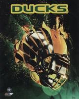 University of Oregon Ducks Helmet Fine-Art Print