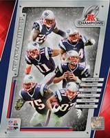 New England Patriots 2014 AFC Champions Team Composite Fine-Art Print
