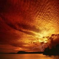 Red Storm Fine-Art Print