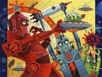 Robotic Uprising Fine-Art Print