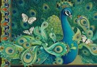 Paisley Peacock Fine-Art Print