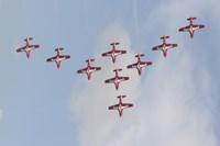 The Snowbirds 431 Air Demonstration Fine-Art Print