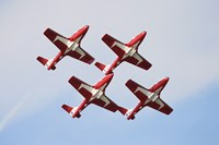 The Snowbirds 43 Squadron of the Royal Canadian Air Force Fine-Art Print