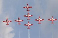 Snowbirds 431 Air Squadron of the Canadian Air Force Fine-Art Print