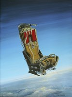 Acrylic Painting of the Martin Baker Ejection Seat Fine-Art Print