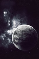 Artist's Concept of a Windy Planet with a Thick Atmosphere Fine-Art Print
