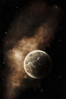 A Planet Full of Massive Mountain Chains and Vast Deserts Fine-Art Print