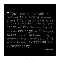 Time Quote Fine-Art Print