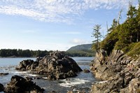 Outcrop, Hot Springs Cove, Vancouver Island, British Columbia Fine-Art Print