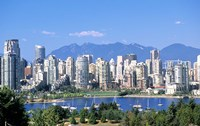 Vancouver Waterfront, British Columbia, Canada Fine-Art Print