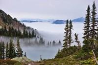British Columbia, Whistler Mountain, Clouds Fine-Art Print