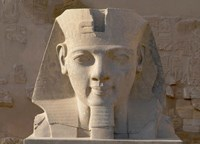 Ramesses II, New Kingdom, Temple of Luxor, Egypt Fine-Art Print