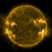 Solar Activity on the Sun Fine-Art Print