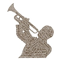 Trumpet Player (Greatest Jazz Tunes) Fine-Art Print