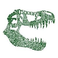 T Rex Skull (Popular Dinosaur Names) Fine-Art Print