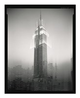 Empire State Building Motion Landscape #2 Fine-Art Print