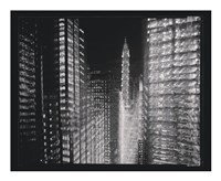 Chrysler Building Motion Landscape #4 Fine-Art Print