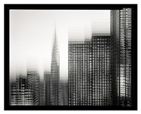 Chrysler Building Motion Landscape #1 Fine-Art Print