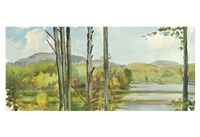 Lake Study (left) Fine-Art Print