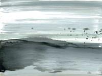 Silver Silence: Dappled Shore Fine-Art Print