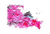Japanese Temple Scene Fine-Art Print