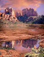 Cathedral Rock Reflected - Sedona Fine-Art Print