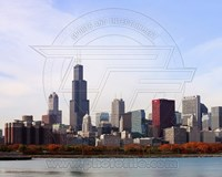 The Chicago, Illinois Skyline Fine-Art Print