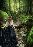 Along the Forest Path Fine-Art Print